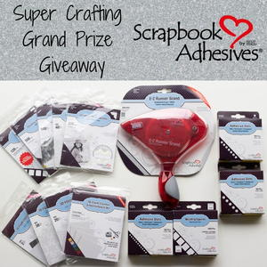 Scrapbook Adhesives by 3L Super Crafting Grand Prize Giveaway
