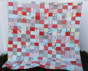 Easy Peasy Fat Quarter Quilt