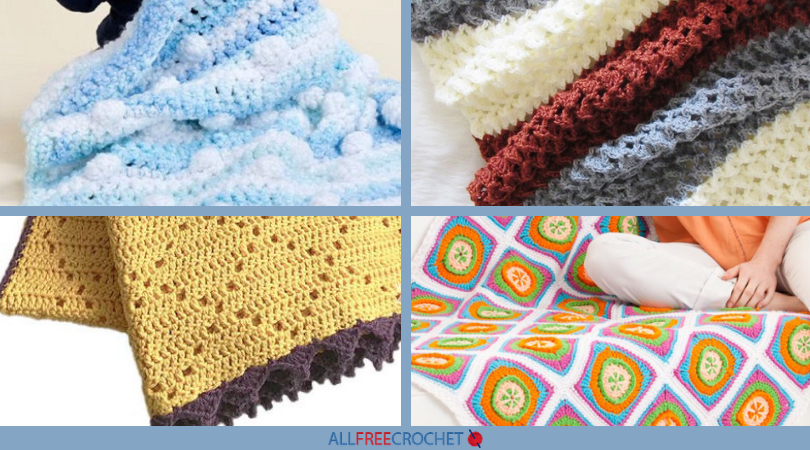 60 Fab Free Crochet Afghan Patterns With Pictures AllFreeCrochet New Free Crochet Afghan Patterns One Piece