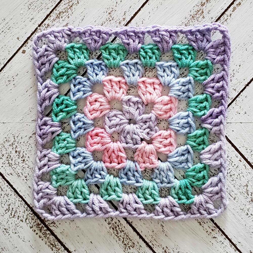 Easy Classic Granny Square Crochet Tutorial Allfreecrochet