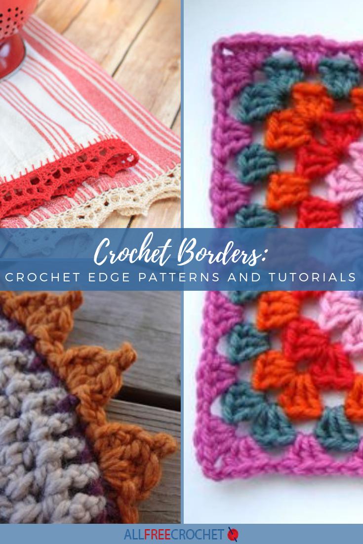 Interesting two-color crochet pattern: scheme, description, application