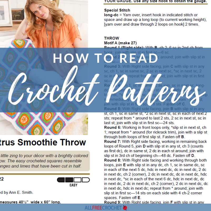 How To Read Crochet Patterns AllFreeCrochet Inspiration How To Read A Crochet Pattern