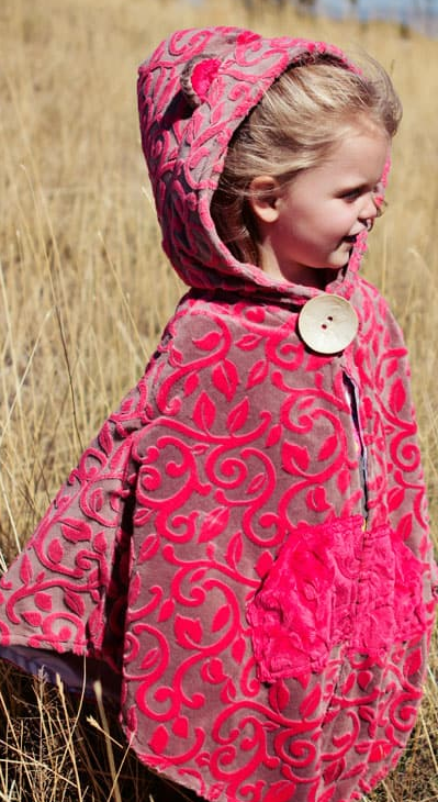 How To Make A Child's Cape AllFreeSewing Beauteous Toddler Cape Pattern