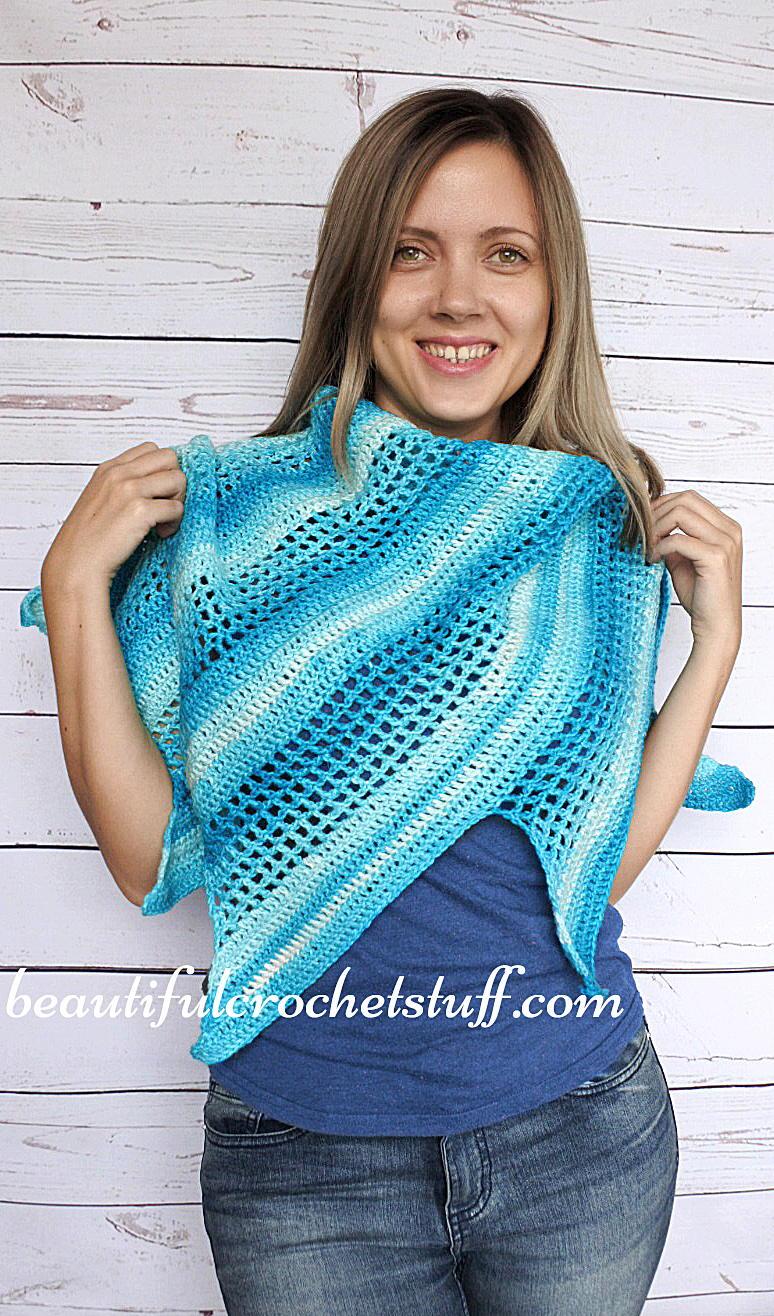 Crochet Baktus Scarf Free Pattern Allfreecrochet