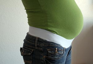 How To Add Maternity Band to Jeans