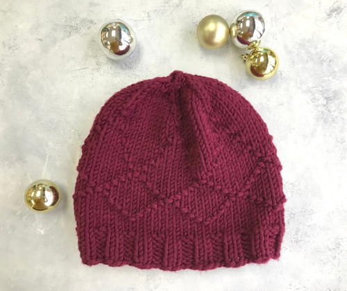 The Rubies and Diamonds Hat Pattern