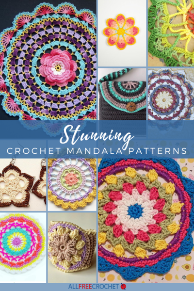 60 Stunning Crochet Mandala Patterns AllFreeCrochet Gorgeous Free Crochet Mandala Pattern