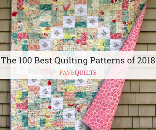 The 100 Best Quilting Patterns of 2018