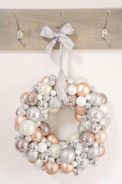 Diy Ornament Wreath Diyideacenter Com