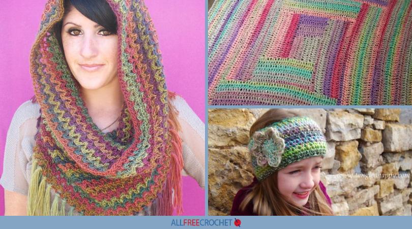 60 Variegated Yarn Crochet Patterns AllFreeCrochet Classy Variegated Yarn Crochet Patterns