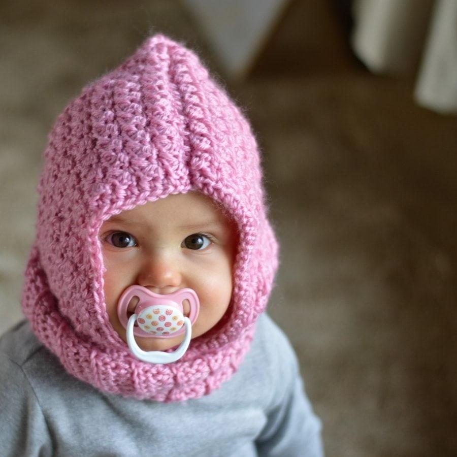 Baby Hooded Cowl Allfreecrochet