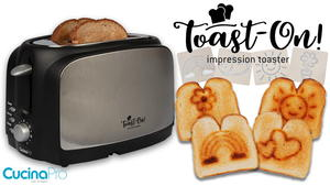 CucinaPro Toast On! Impression Toaster Giveaway