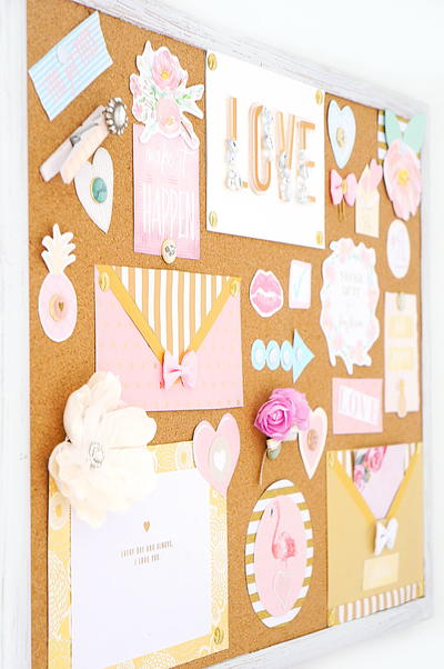 DIY Inspirational Cork Board