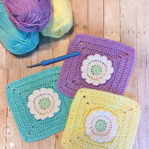 Wildflower Granny Square