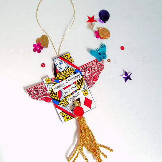 Playing Card Gift Tags Allfreepapercrafts Com