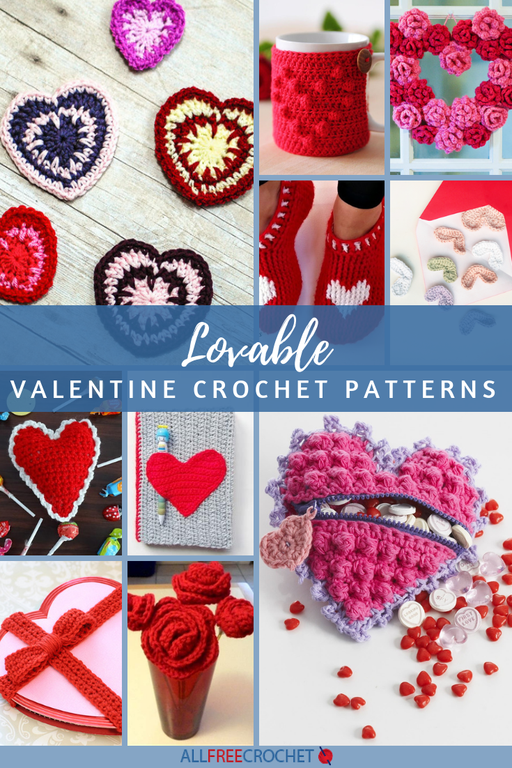 30 Lovable Valentine Crochet Patterns Allfreecrochet