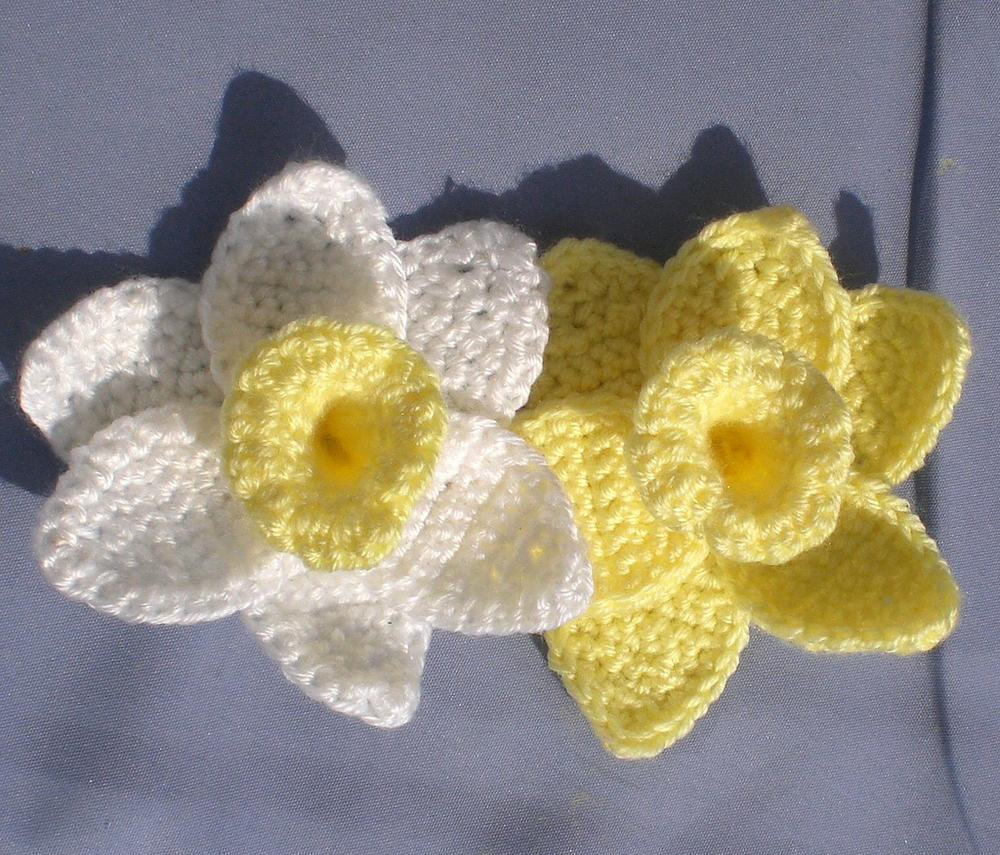 Daffodils Of Spring Allfreecrochet