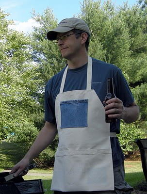 Barbecue Apron for Dad