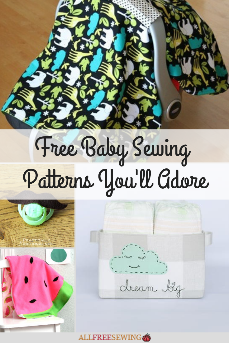 75+ Free Baby Sewing Patterns You\'ll Adore | AllFreeSewing.com