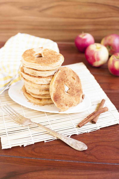 Quick Apple Donuts
