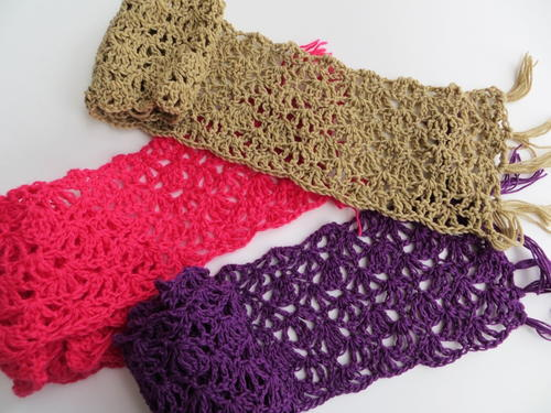 Lacy Summer Scarf