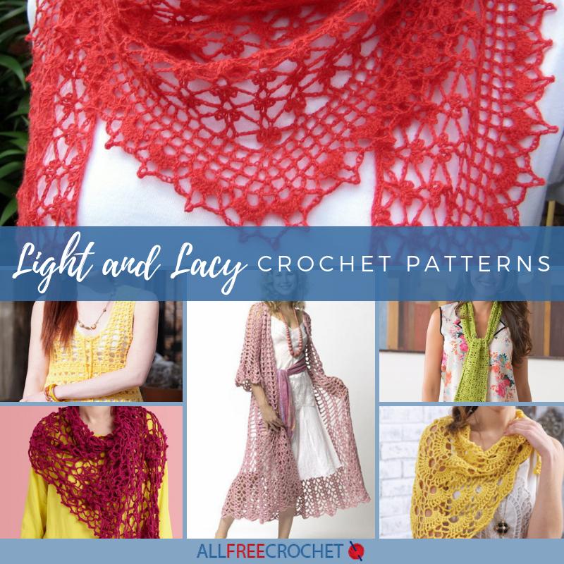 24 Light And Lacy Crochet Patterns Allfreecrochet