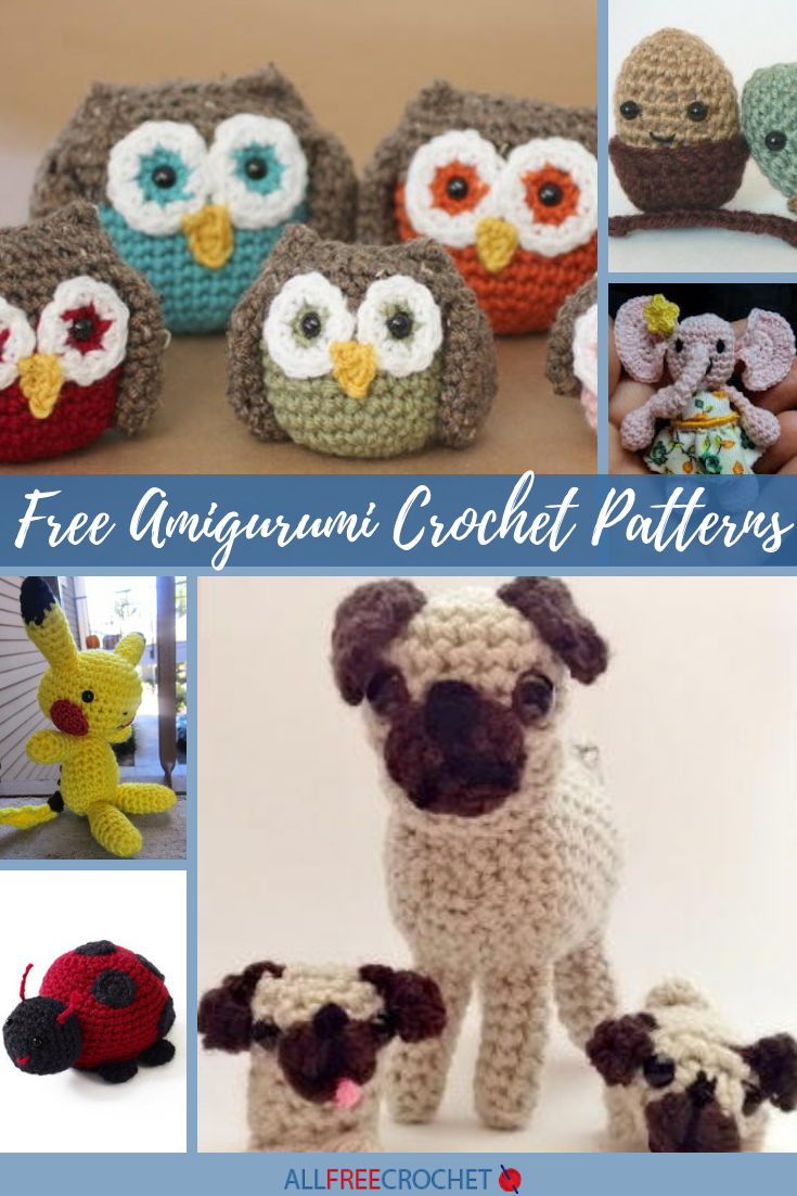 19 Free Amigurumi Crochet Patterns Allfreecrochet